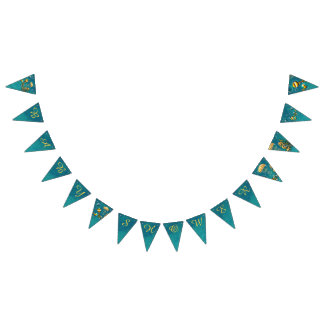 Under the Sea Baby Shower Bunting Flags