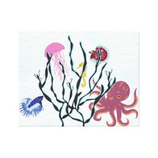 Under the Sea Gallery Wrap Canvas