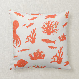 Underwater baby pillow (White)