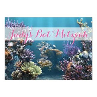Underwater Bat Mitzvah Invitation