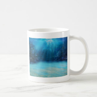 Underwater Coral Reef Towers Coffee Mug