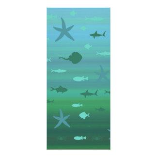 Underwater Life Full Colour Rack Card