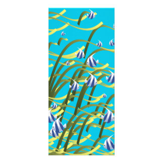 Underwater life personalized rack card