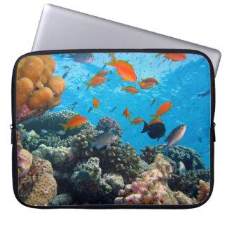 Underwater Scene Laptop Sleeves