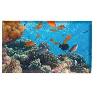 Underwater Scene Table Card Holders