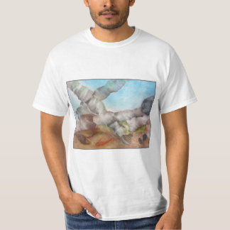 Underwater Scene with Shells. T-Shirt