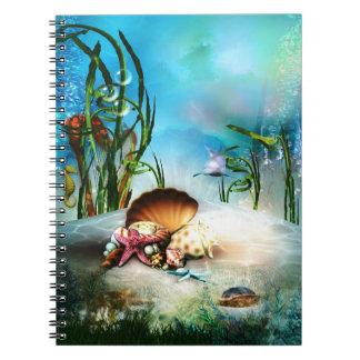 Underwater Sea Life Notebook