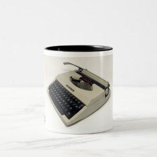 Underwood 255 typewriter Two-Tone mug
