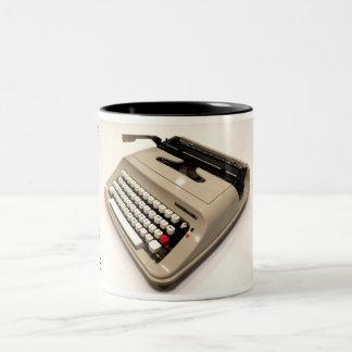 Underwood 319 typewriter Two-Tone mug