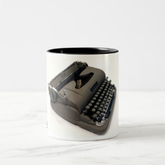 Underwood Finger Flite Champion typewriter Two-Tone Mug