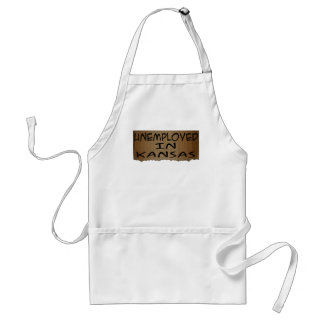UNEMPLOYED IN KANSAS STANDARD APRON