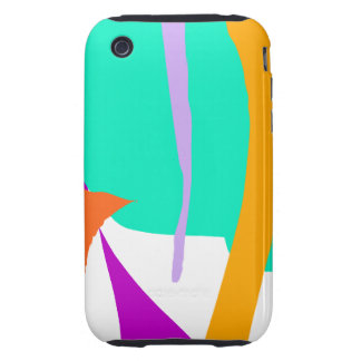 Unexpected Cosmic Rays Imagination Education Tough iPhone 3 Cases