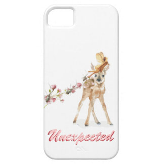 Unexpected fairy and deer barely there iPhone 5 case