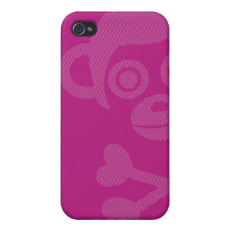 Unfinished Monkeys cute pink iphone case iPhone 4/4S Cover