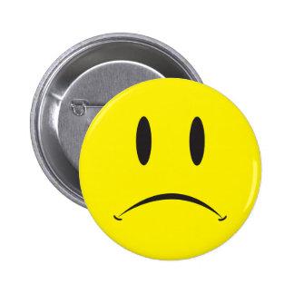 Unhappy Face Pins