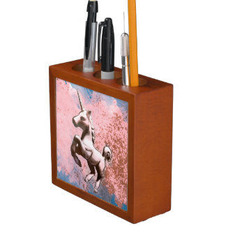 Unicorn Desk Organizer (Faded Sherbet)