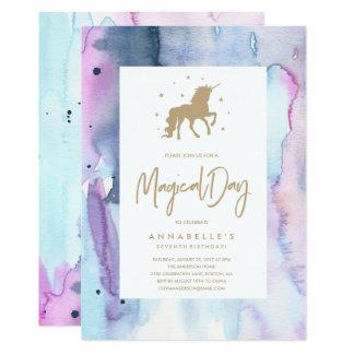 Unicorn Dream Birthday Invitation