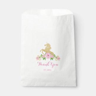 Unicorn Favor Bag