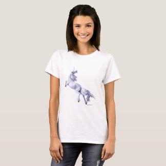 Unicorn Flying by Marc Brinkerhoff. T-Shirt