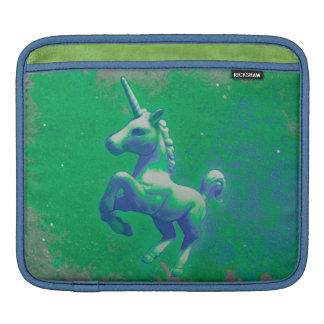 Unicorn iPad Sleeve (Glowing Emerald)