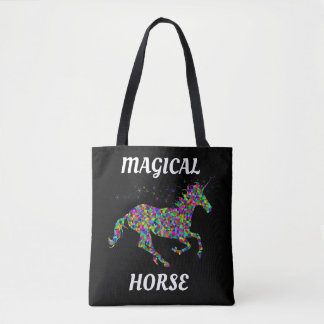UNICORN MAGICAL HORSE TOTE BAG