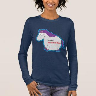 Unicorn Obesity Long Sleeve T-Shirt