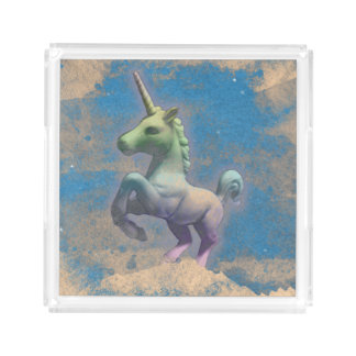 Unicorn Perfume Tray (Sandy Blue)