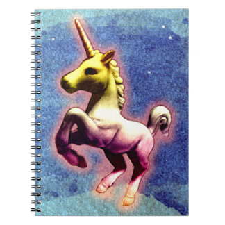 Unicorn Photo Notebook 80 Pages (Galaxy Shimmer)