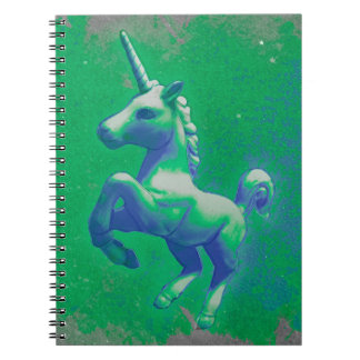 Unicorn Photo Notebook 80 Pages (Glowing Emerald)