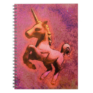 Unicorn Photo Notebook 80 Pages (Red Intensity)