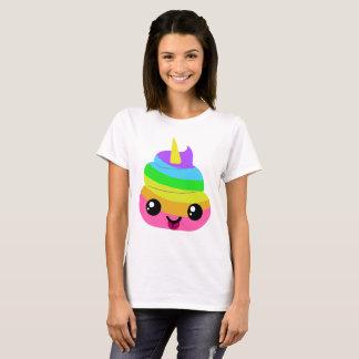 Unicorn Poop Emoji T-Shirt