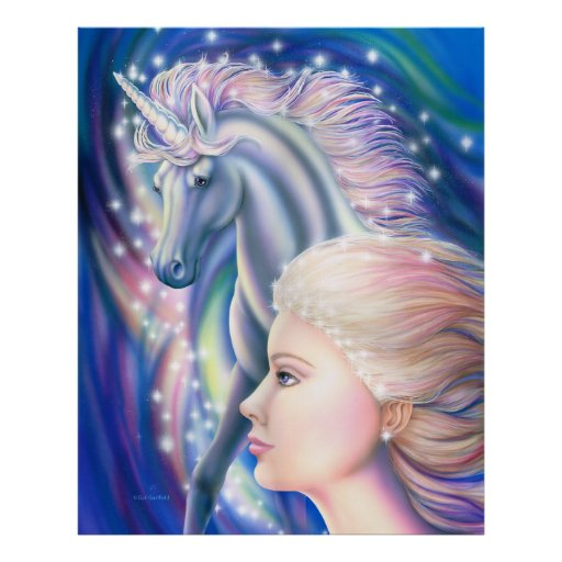 Unicorn Princess Poster Posters