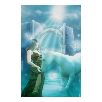 Unicorn Princess Poster