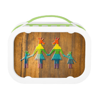 Unicorn Rainbow Family #2 Lunchbox