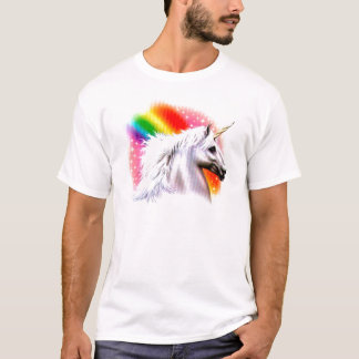 Unicorn rainbow. T-Shirt