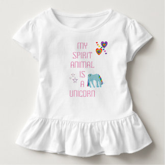 Unicorn Ruffle T-shirt