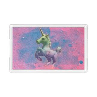 Unicorn Vanity Tray (Cupcake Pink)