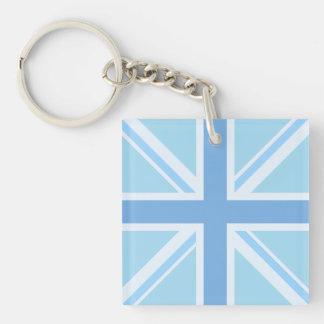 Union Flag/Jack Design Blues Key Ring