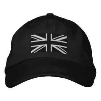 Union Jack Embroidered Hats