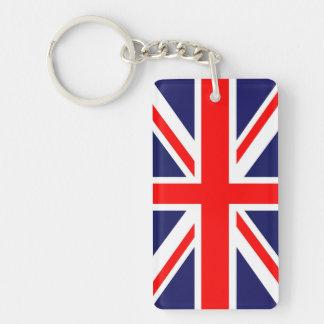 Union Jack flag Key Ring