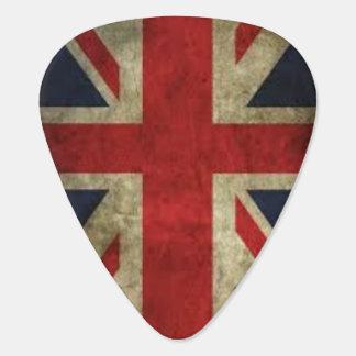 Union Jack Grunge Plectrum