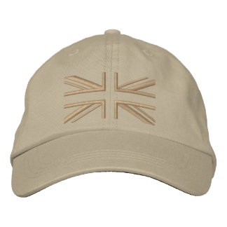 Union Jack ~ Modern Embroidered Hat