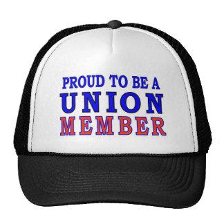 UNION MEMBER CAP