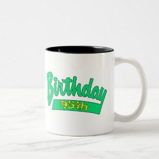 Unique 95th Birthday Gifts Two-Tone Coffee Mug