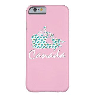 Unique fun Canadian Canada phone case pink