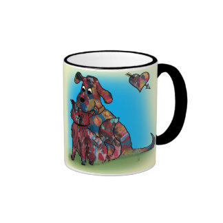 Unique Gift - Dog and Cat Lovers -Mug