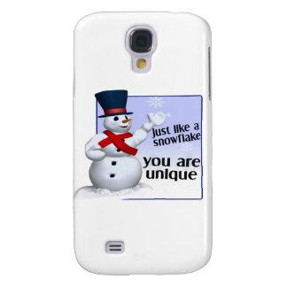 Unique Like A Snowflake Galaxy S4 Case