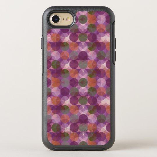 Unique Modern Polka Dot Pattren OtterBox Symmetry iPhone 7 Case