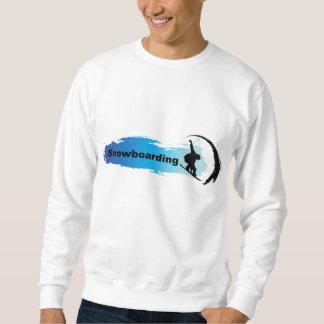Unique Snowboarding Sweatshirt
