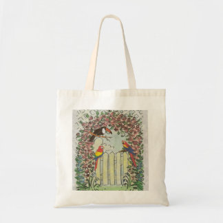 Unique Toucan and Parrots Tote Bag Carryall